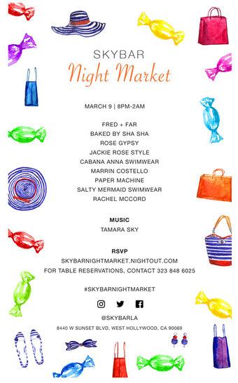 Skybar Night Market