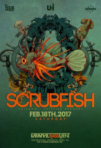 Scrubfish in the Vinyl Basement