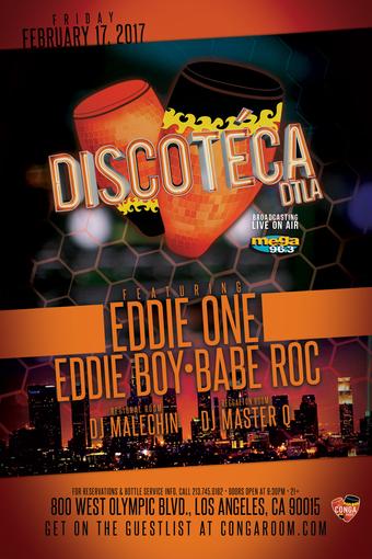 Conga Room presents Discoteca DTLA
