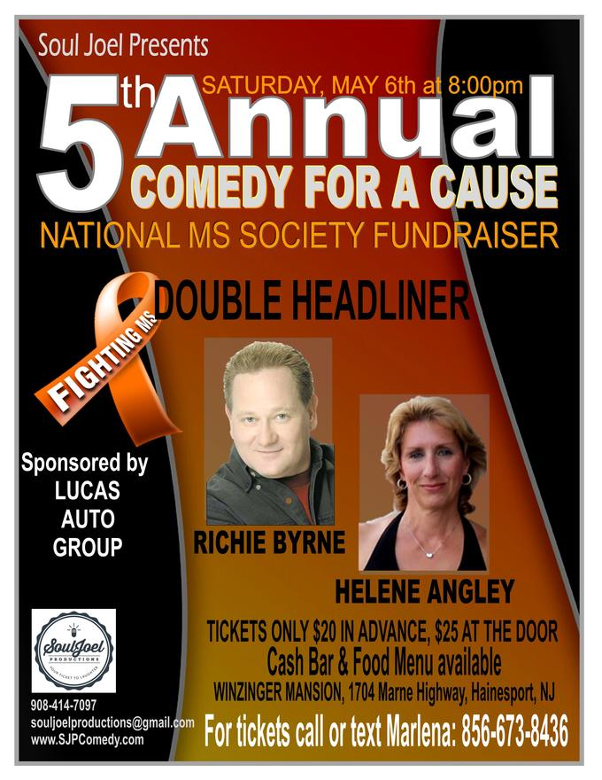 5th Annual MS Society Comedy Benefit