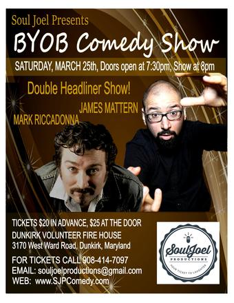 Maryland:  Comedy Show at Dunkirk Volunteer FD