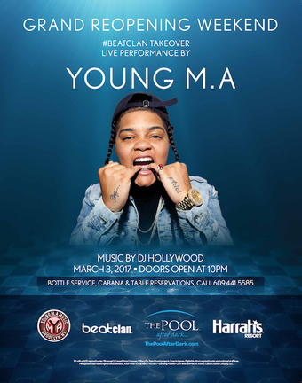 Aqua Friday with Young M.A