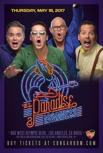 Conga Room presents Los Amigos Invisibles