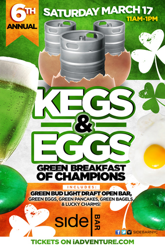6th Annual Kegs & Eggs at SideBAR