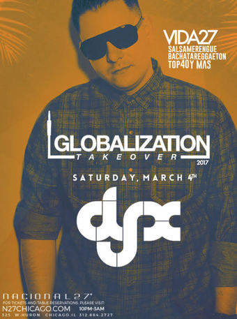 Globalization Takeover-DJ X