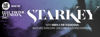Starkey, Siren, & The Toddfatha at Electronic Tuesdays // The Lounge Takeover: AMB Crew