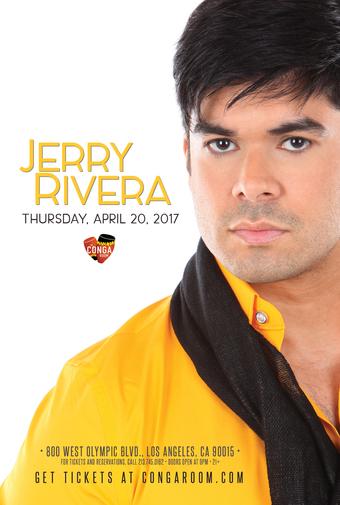Conga Room presents Jerry Rivera