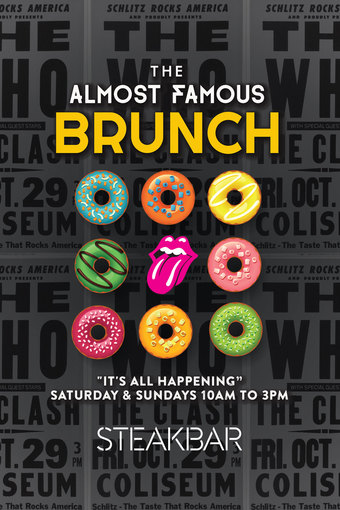 The Almost Famous Brunch at SteakBar