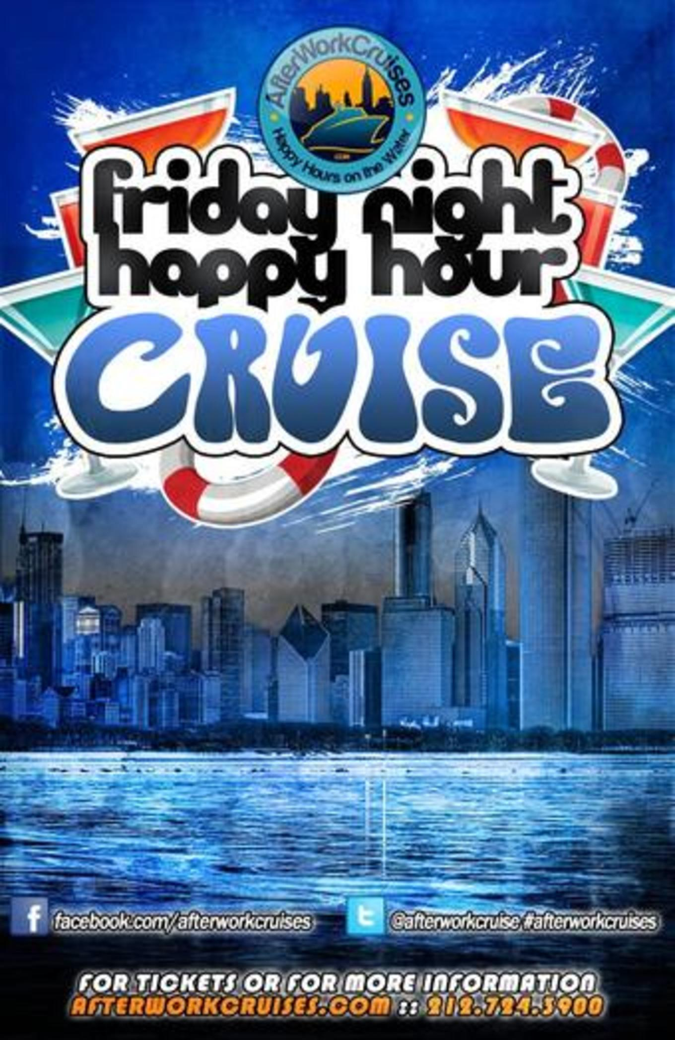Friday Night Happy Hour Cruise - Tickets - Skyport Marina, New ...