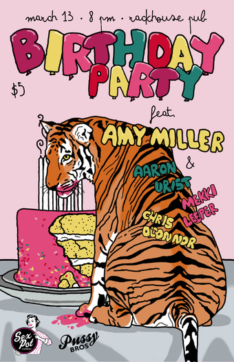Birthday Party with Amy Miller