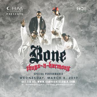 Bone Thugs-N-Harmony Host OHM Celebrating Motley Dave's Birthday!