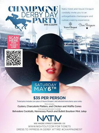 Champagne Derby Day Party