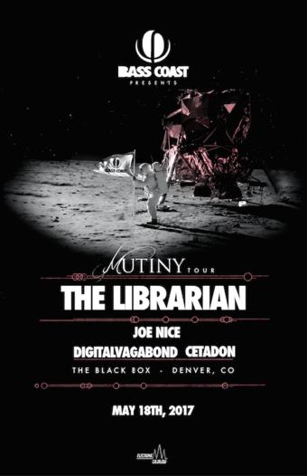 Bass Coast Mutiny Tour - The Librarian