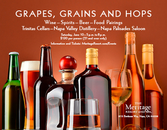 Grapes, Grains and Hops