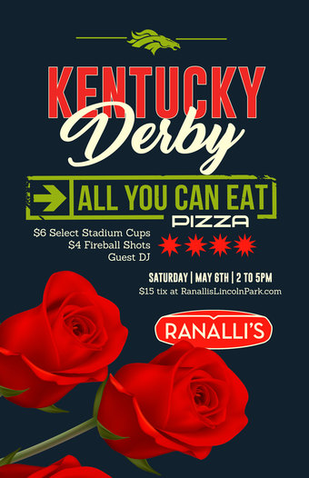 Kentucky Derby Pizza Party at Ranallis
