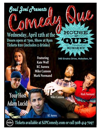 Hoboken: Comedy Que (CANCELLED)