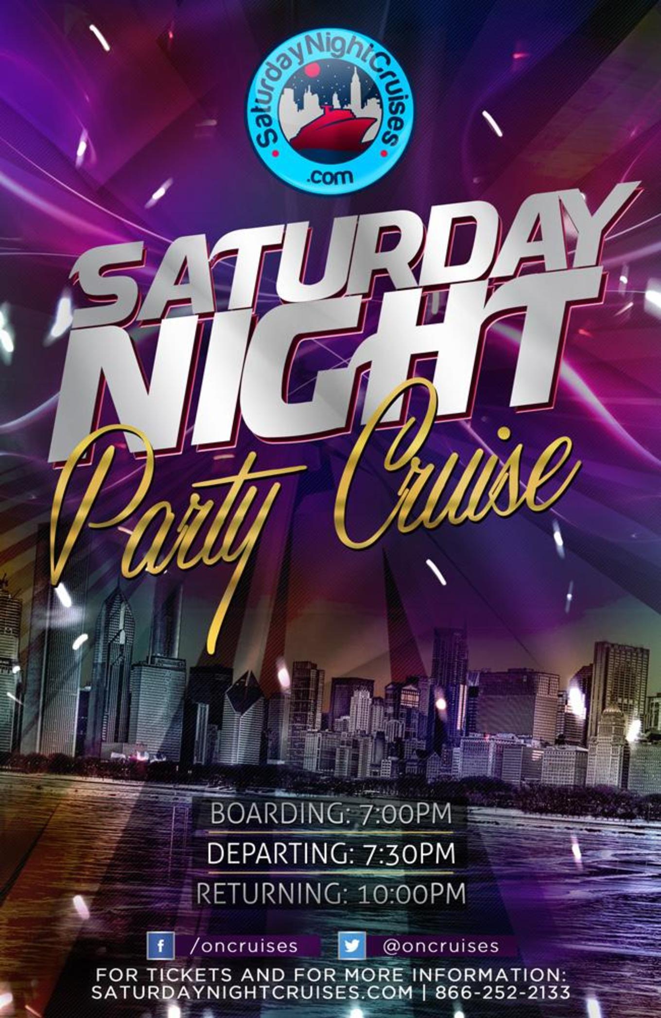 Saturday Night Party Cruise - Tickets - Skyport Marina, New York ...