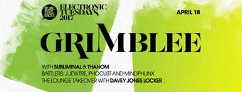 Grimblee, Subliminal, & Thanom at Electronic Tuesdays // The Lounge: Davey Jones Locker