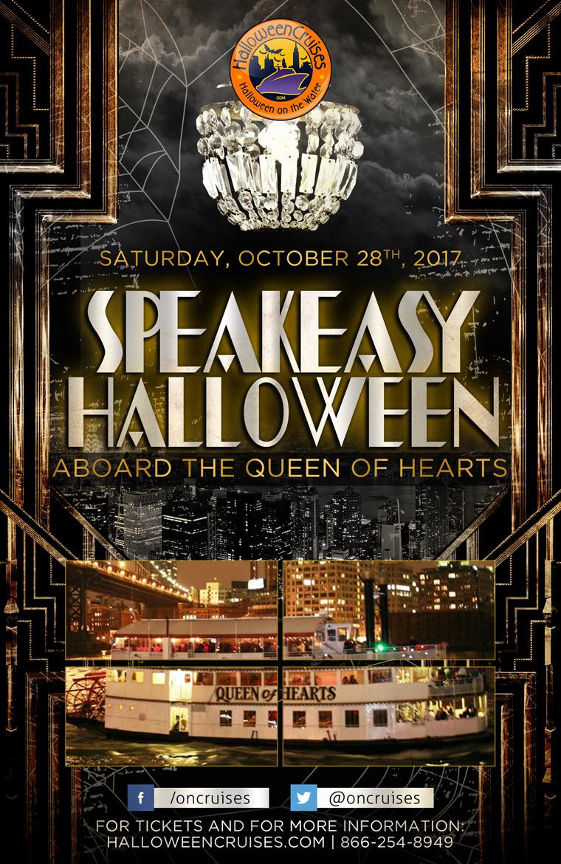 Speakeasy Halloween Aboard the Queen of Hearts - Tickets - The ...