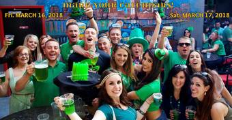 2018 Irish 4 A Day ~ San Diego's #1 St. Patrick's Day Party Hop! | Fri. March 16 + Sat. March 17 | Presented by: Omnia, Bassmnt, F6ix, McFadden's, Parq, Sevilla & more