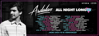 Ardalan ALL NIGHT LONGer tour EOS LOUNGE 5.19