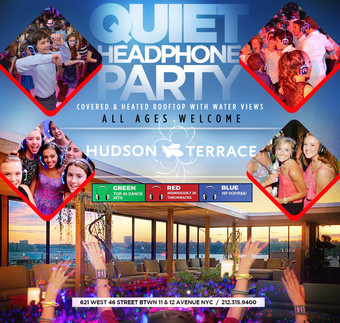 *5/21 - QUIET CLUBBING* SILENT HEADPHONE -KIDS PARTY- (ALL AGES WELCOME) - COVERED ROOFTOP!