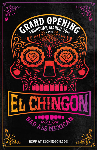 El Chingon Grand Opening