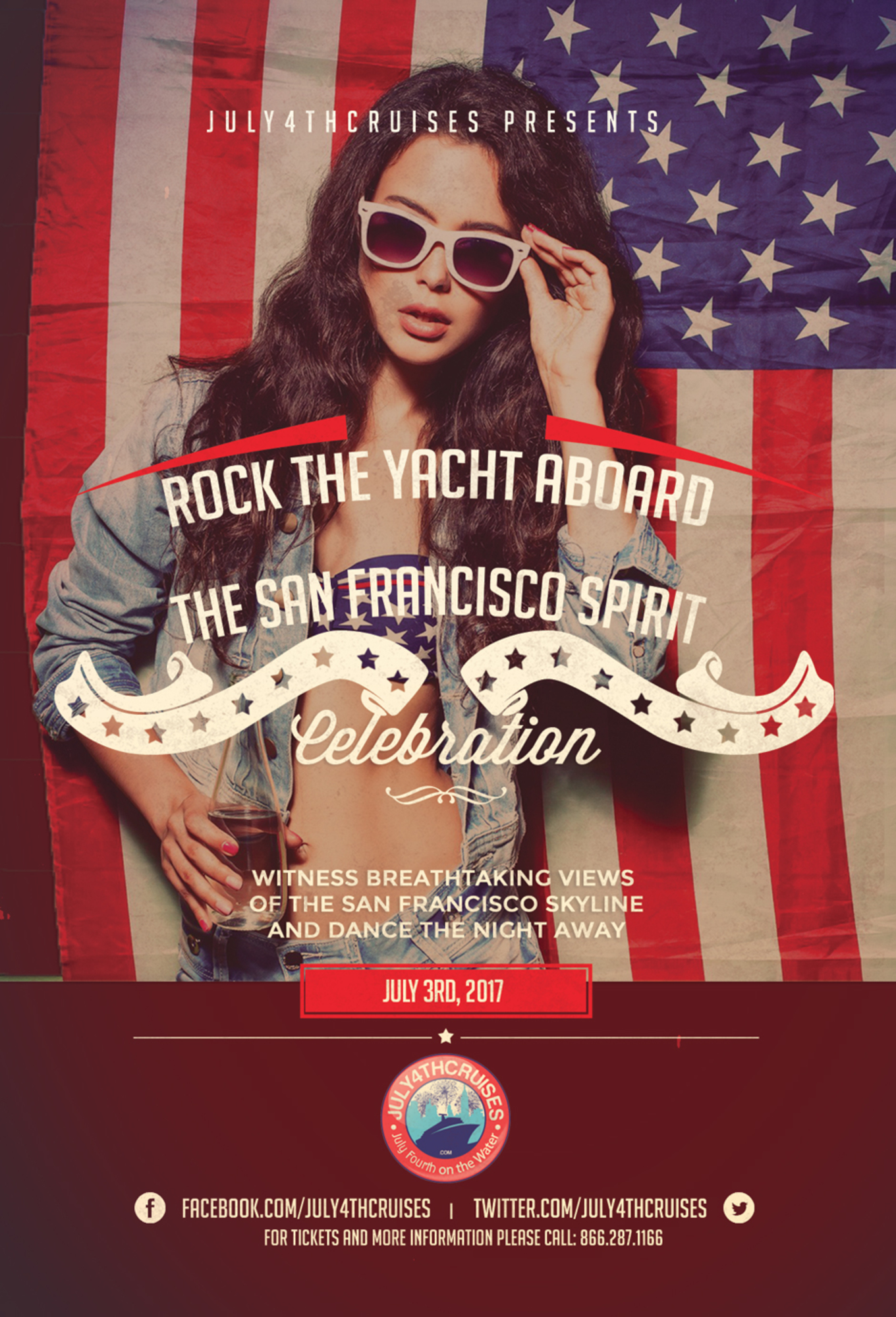 Rock the Yacht Pre July 4th Yacht Party Aboard the San Francisco ...