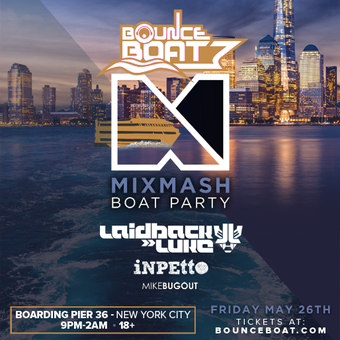 Mixmash Presents: Laidback Luke, Inpetto, & Mike Bugout
