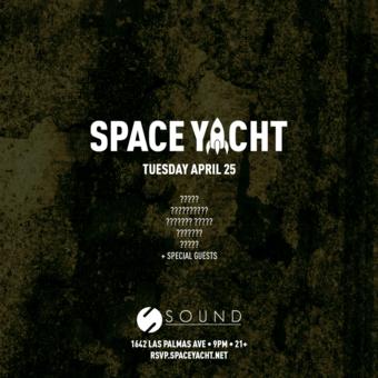 SPACE YACHT 4/25: worldwide trap reunion