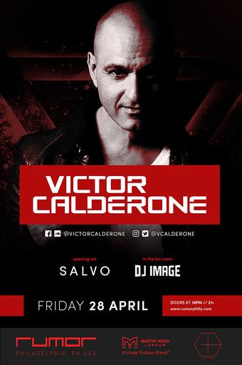Victor Calderone at Rumor Nightclub