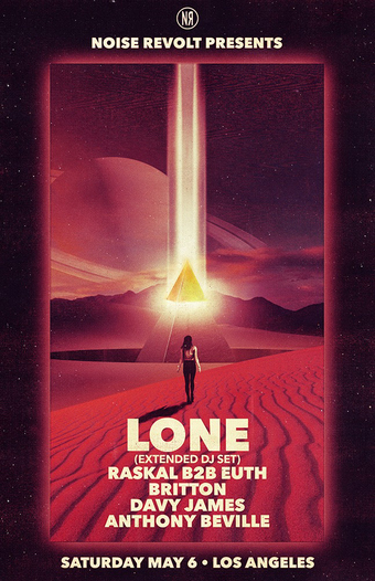 Noise Revolt Presents: Lone (Extended DJ Set), Raskal B2B Euth, Britton, Davy James, Anthony Beville