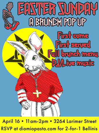 Dio Mio presents... Easter Sunday Brunch!
