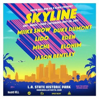 Radio Hill and 89.9 KCRW present Skyline: Art, Music, Food