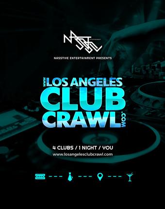 LOS ANGELES CLUB CRAWL ONLINE TICKET