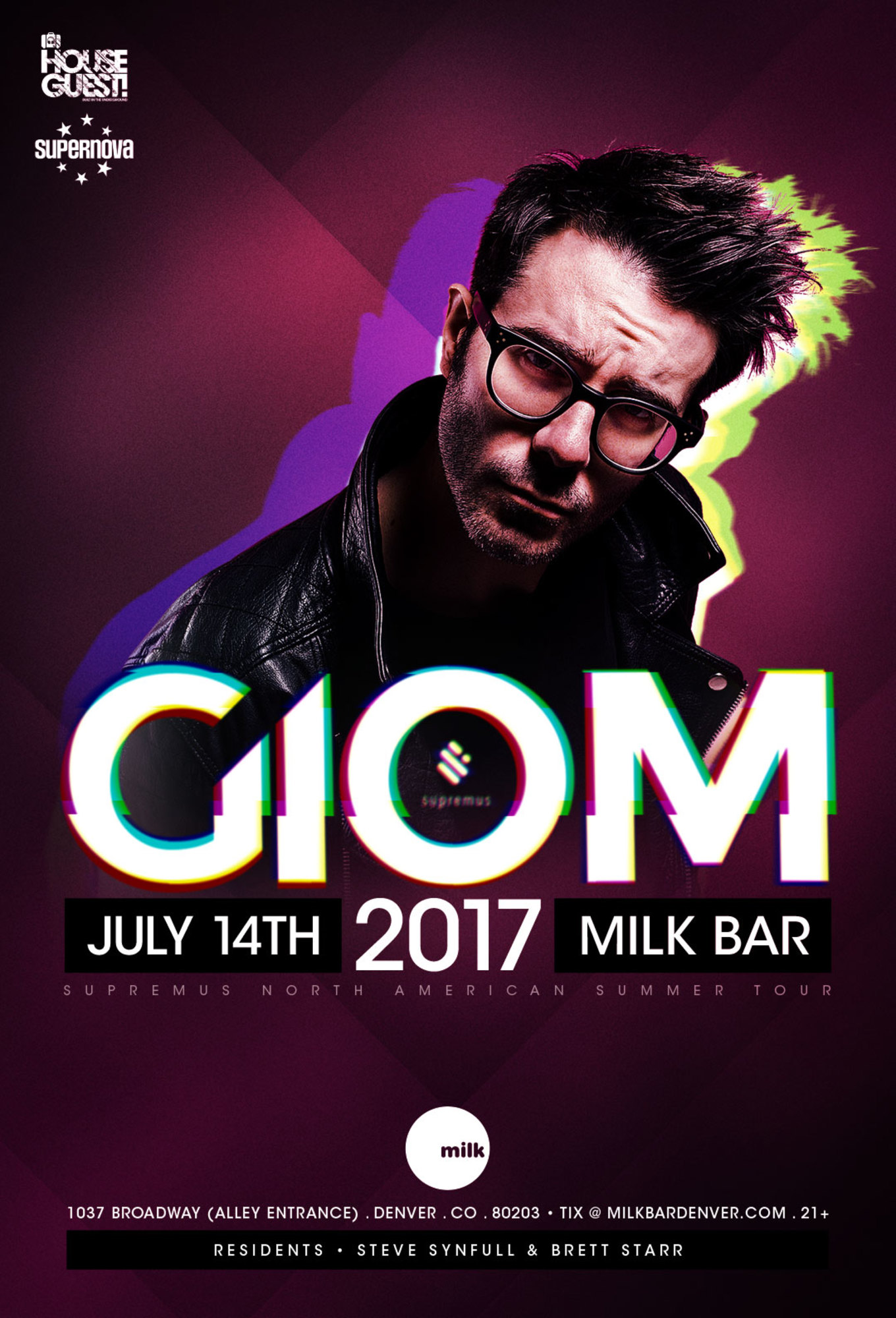 Giom Tickets Milk Denver Co July 14 2017