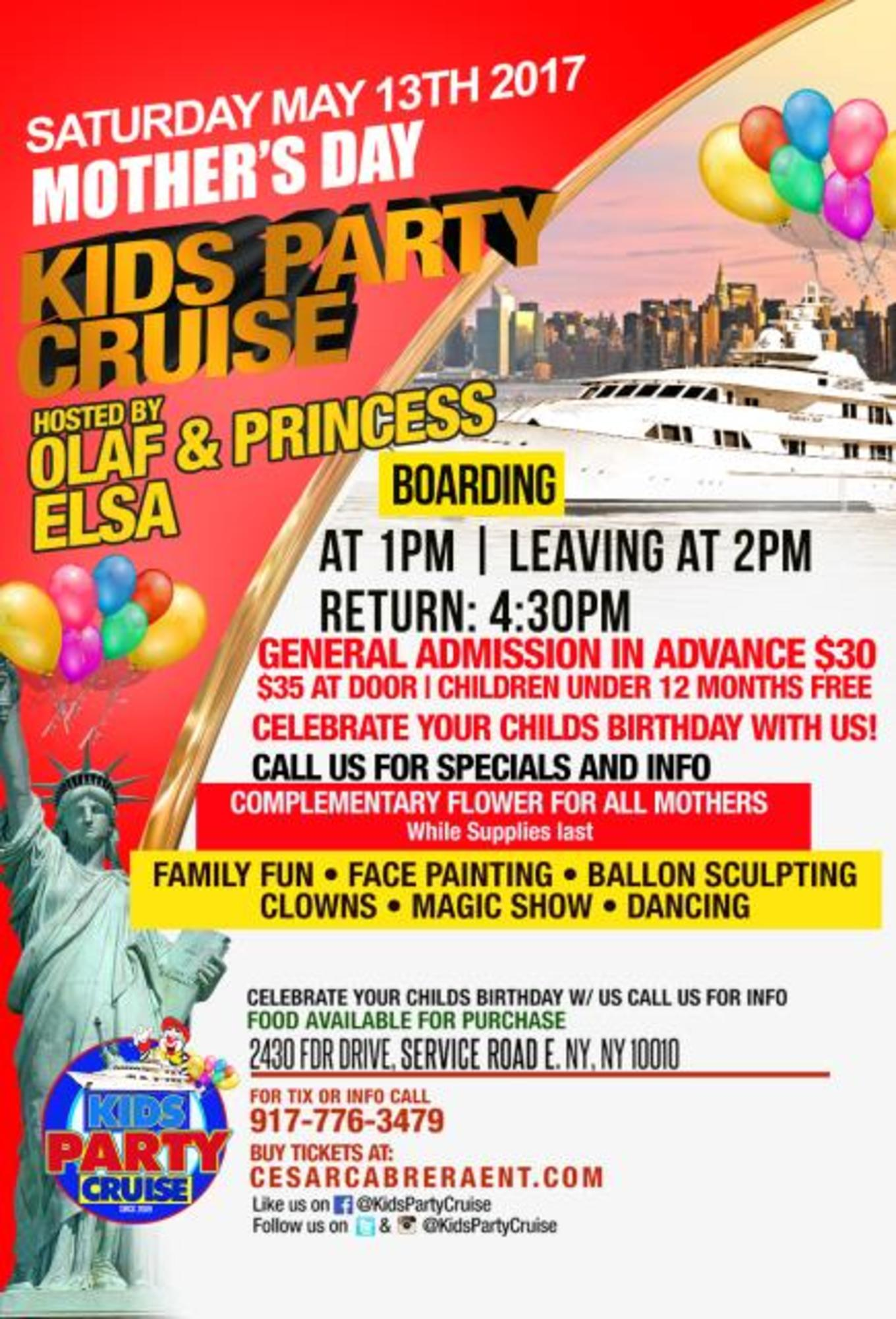 Kids cruise mothers day edition tickets skyport marina new kids cruise mothers day edition izmirmasajfo