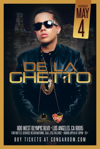 Conga Room presents De La Ghetto