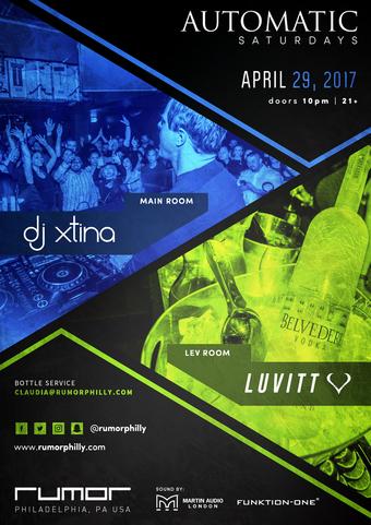 Automatic Saturdays ft. XTINA, LuVITT