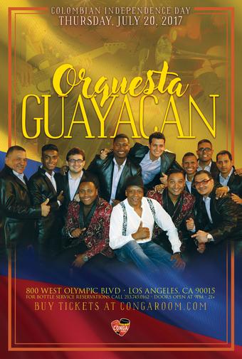 Conga Room presents Orquesta Guayacan
