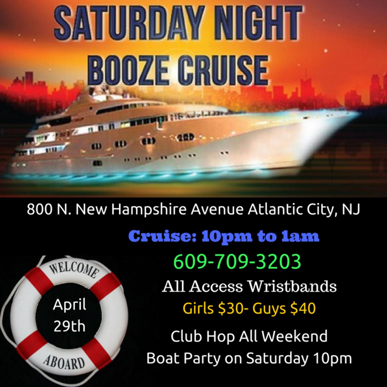 Booze Cruise 4 29 Gardners Basin Marina In Atlantic City