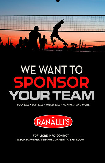 We Want to Sponsor Your Team at Ranalli's