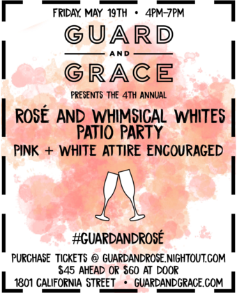 Rose and Whimsical Whites at Guard and Grace