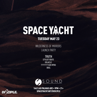 SPACE YACHT 5/23