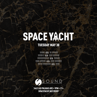 SPACE YACHT 5/30