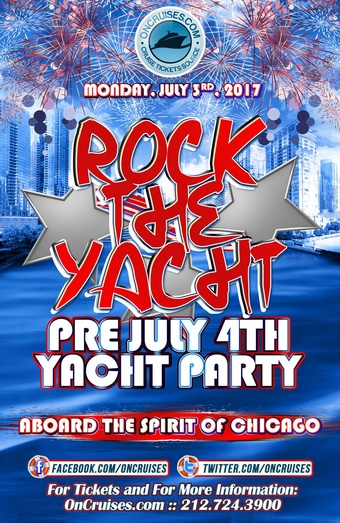 Rock the Yacht: Pre July 4th Yacht Party Aboard the Spirit of Chicago
