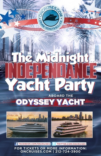 The Midnight IndepenDANCE Yacht Party Aboard the Mystic Blue Yacht