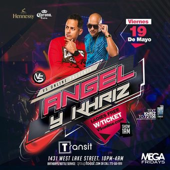 Angel Y Khriz - Transit Nightclub