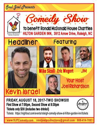 Raleigh: Comedy Show at Hilton Garden Inn