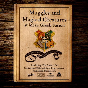 Muggles & Magical Creatures at Meze